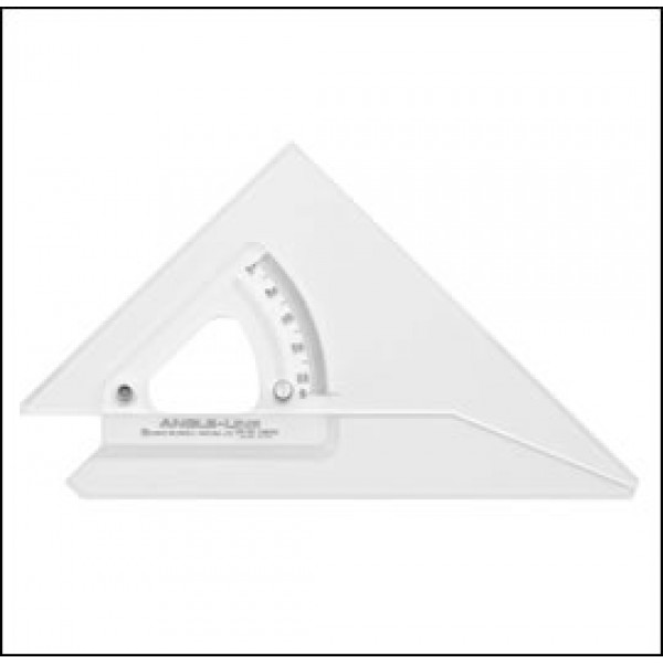 300mm Angle-Line Adjustable Set Square