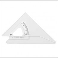300mm Angle-Line Adjustable Set Square with Inking Edge