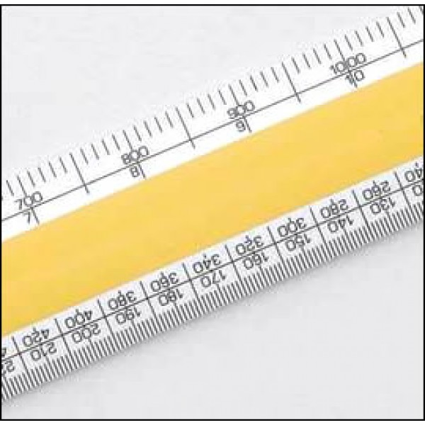 No 3 Verulam Architects Scale Rule 6 Inch (150mm)