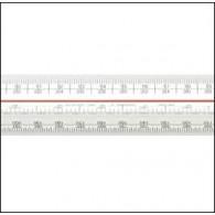 Metric A Verulam Triangular Scale Rule 300mm