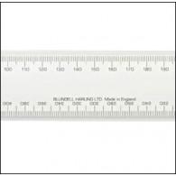 No 1 Academy Mechanical Engineers Scale Rule 12 Inch; (300mm)